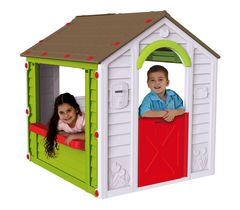 ДЕТСКИЙ ДОМИК HOLIDAY PLAY HOUSE 118X99X117 CM